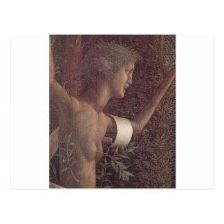 アンドリアMantegna著美徳の勝利 ポストカード