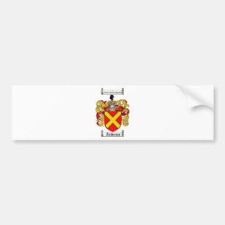 アンドリュースの家紋-アンドリュースの紋章付き外衣 バンパーステッカー