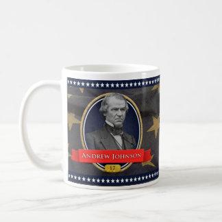 アンドリュー・ジョンソンの歴史的マグ コーヒーマグカップ