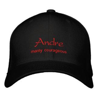 アンドレの一流の帽子/帽子 刺繍入りキャップ