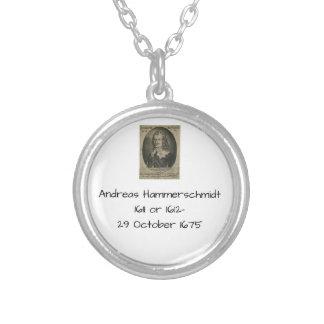 アンドレアスHammerschmidt シルバープレートネックレス