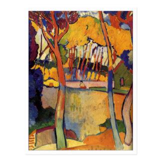 アンドレDerain 3の木のファインアート ポストカード