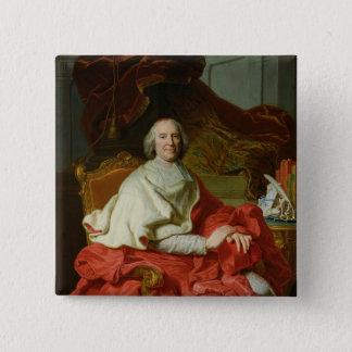 アンドレHercule de Fleury 1728年 5.1cm 正方形バッジ