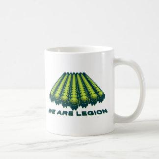 アンドロイド-軍隊の迷彩柄 コーヒーマグカップ