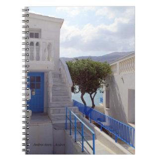 アンドロスの町-アンドロス ノートブック