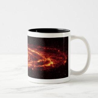 アンドロメダのコーヒー・マグ ツートーンマグカップ