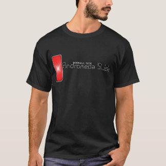 アンドロメダのスライド(白い) Tシャツ
