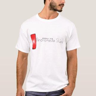 アンドロメダのスライド(黒) Tシャツ
