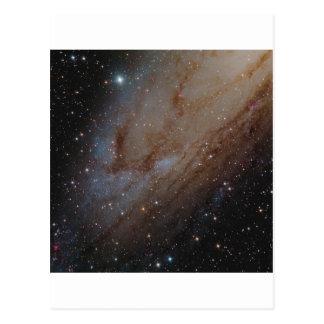 アンドロメダの恒星雲 ポストカード