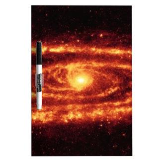 アンドロメダの銀河系 ホワイトボード