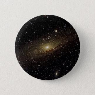 アンドロメダの銀河系 5.7CM 丸型バッジ