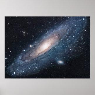 アンドロメダのM31銀河系 ポスター