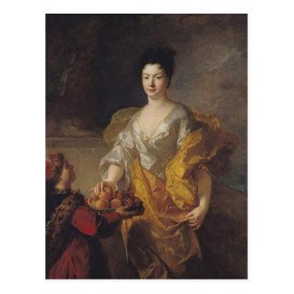 、アンヌマリーde Bosmelet La力の公爵夫人 ポストカード