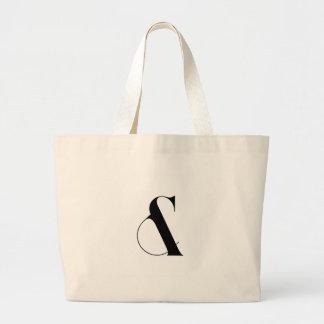 アンパーサンドの最小主義の近代美術 ラージトートバッグ