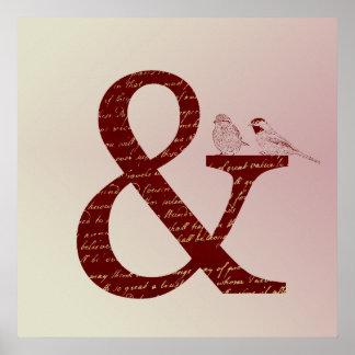 アンパーサンドの鳥 ポスター