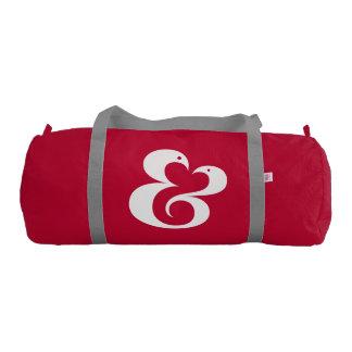 アンパーサンドの♥ 01の♥のカスタムなDuffleの体育館のバッグ ジムバッグ