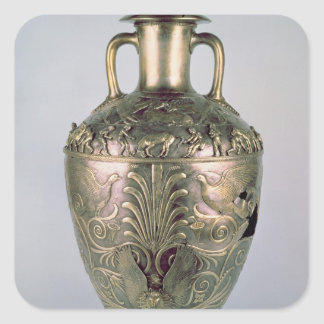 アンフォラ、紀元前の4世紀後半 スクエアシール