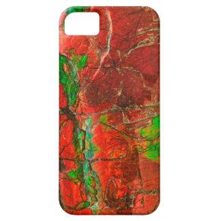 アンモナイトの化石の電話箱 iPhone SE/5/5s ケース
