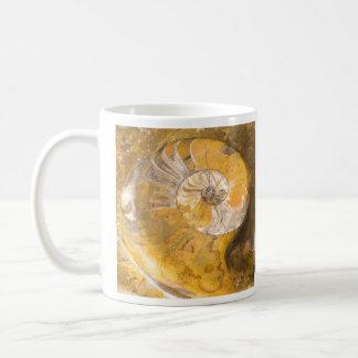 アンモナイトの化石 コーヒーマグカップ