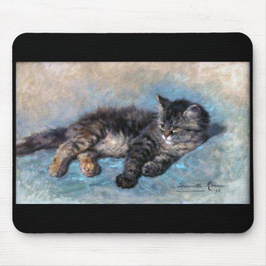 アンリエット・ロナーニップ_猫 マウスパッド