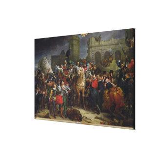 アンリーの記入項目パリにIV キャンバスプリント