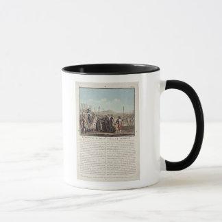 アンリーはII (1519-59年)メス、Toulの鍵を受け取ります マグカップ