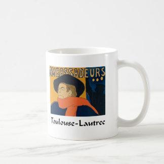 アンリーツールーズLautrec - Aristide Bruant (詳細) コーヒーマグカップ
