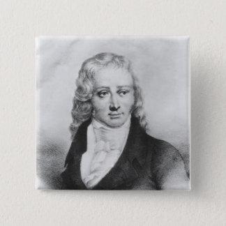 アンリーバンジャマン・コンスタンde Rebecque 5.1cm 正方形バッジ