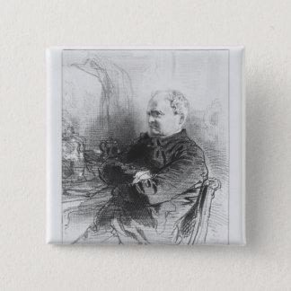 アンリーボナヴェントゥラMonnier 5.1cm 正方形バッジ