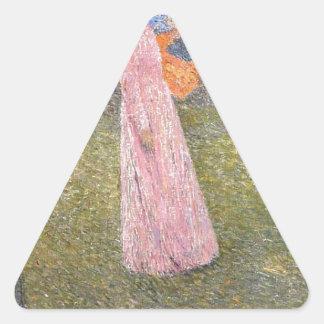 アンリーマーティン著分野のムーサ 三角形シール