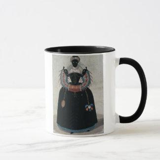 アンリー式の仮面舞踏会衣裳III (colo マグカップ