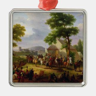 アンリー著パリの包囲1593年1818年にIV メタルオーナメント