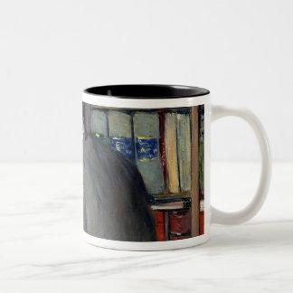アンリーCordierのポートレート ツートーンマグカップ