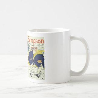 アンリーdeツールーズのLa Chaineシンプソン コーヒーマグカップ