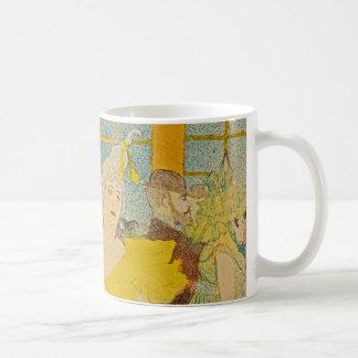 アンリーdeツールーズLautrec著Clowness コーヒーマグカップ