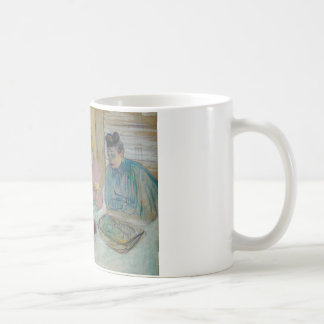 アンリーdeツールーズLautrec -食堂の女性 コーヒーマグカップ