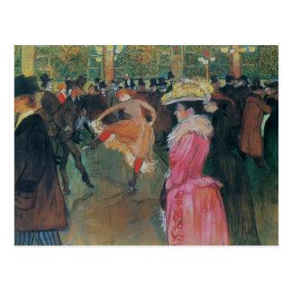 アンリーde -弁柄、ダンスのLautrec- ポストカード