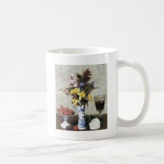 アンリーFantin-Latourの婚約の静物画 コーヒーマグカップ