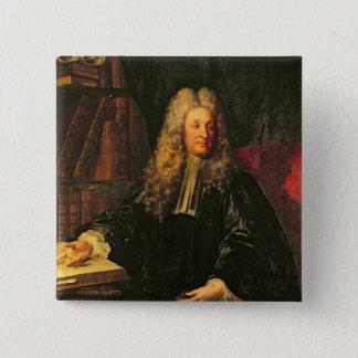 アンリーFrancoisのd'Aguesseau 5.1cm 正方形バッジ