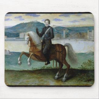 アンリーIV王の乗馬のポートレートの マウスパッド