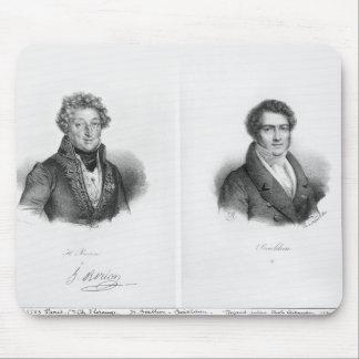 アンリーMontan BertonおよびFrancois Adrien マウスパッド