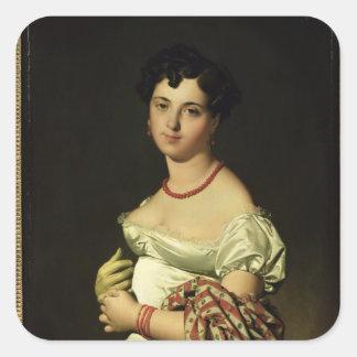 アンリーPhilippeヨセフPanckouke 1811年夫人 スクエアシール