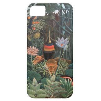 アンリ・ルソーによっては夢のジャングル超現実主義が開花します iPhone SE/5/5s ケース