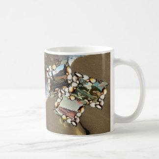 アンリ・ルソーのコラージュ コーヒーマグカップ