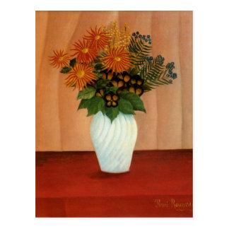 アンリ・ルソーの花の花束(1900年頃) ポストカード
