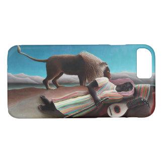 アンリ・ルソー睡眠のジプシーのヴィンテージ iPhone 8/7ケース