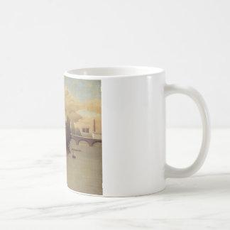アンリ・ルソー著パリの郊外の眺め コーヒーマグカップ