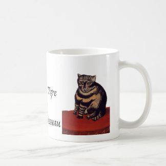 アンリ・ルソー著虎猫猫 コーヒーマグカップ