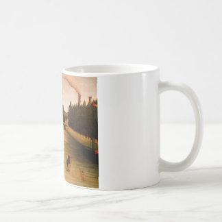 アンリ・ルソー著Alfortvilleで浸ること コーヒーマグカップ