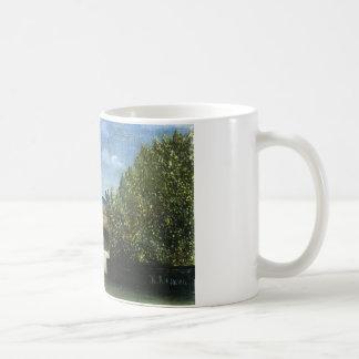 アンリ・ルソー著Ile de la Cite コーヒーマグカップ